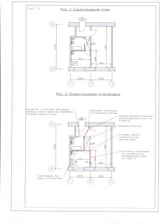 Перепланировка квартиры: из двушки - трешку - Форум