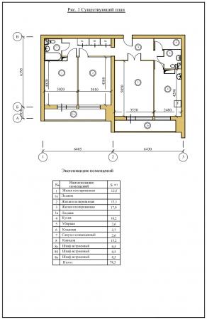 Дизайн 4х комнатной квартиры 60 квм в Москве - заказать